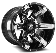 XF OFF-ROAD - XF-214-gloss black chrome insert