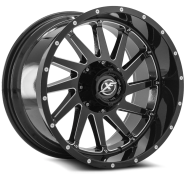 XF OFF-ROAD - XF-216-gloss black milled