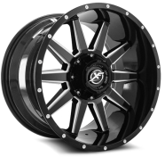 XF OFF-ROAD - XF-217-gloss black milled