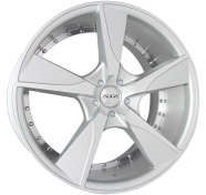 XIX WHEELS - X45-silver machined face