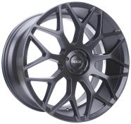 XIX WHEELS - X47-matte black machined