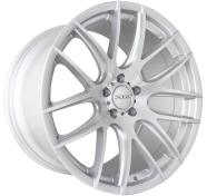 XIX WHEELS - XF43-silver machined face