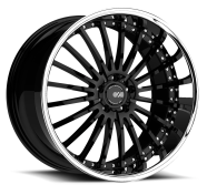 XO - X130 NEW YORK-gloss black chrome lip